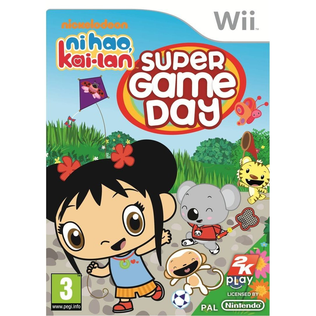 Ni Hao Kai-Lan - Super Game Day Wii