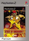State Of Emergency Platinum PS2