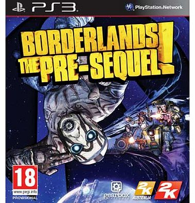 Borderlands: The Pre Sequel PS3 Game
