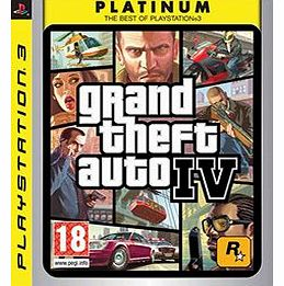 Grand Theft Auto IV (GTA 4) - Platinum on PS3