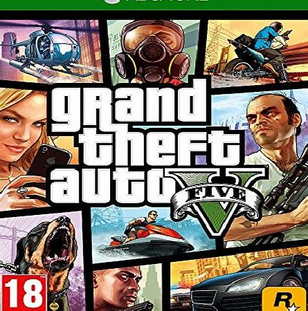 Grand Theft Auto V (GTA 5) on Xbox One
