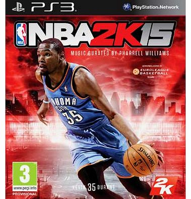 NBA 2K15 PS3 Game