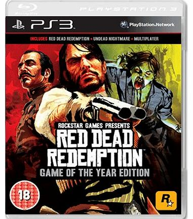 Red Dead Redemption GOTY on PS3