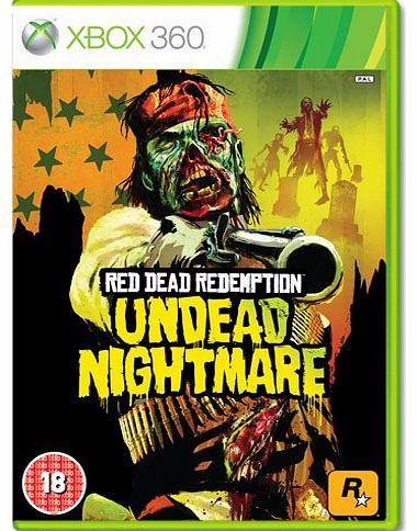 Red Dead Redemption Undead Nightmare on Xbox 360