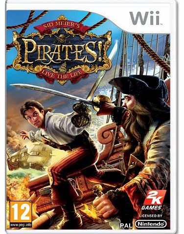 Sid Meiers Pirates on Nintendo Wii