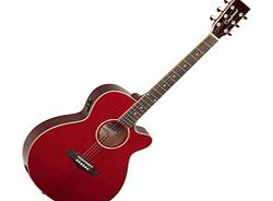 Evolution TSFCE Folk Cutaway Red