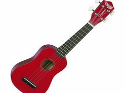 TU6 Soprano Ukulele Pack Wine Red