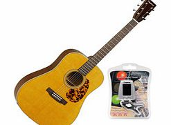 TW40DAN Sundance Natural Dreadnought