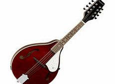 Union Series Teardrop Mandolin Wine Red
