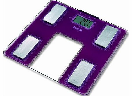 Tanita UM-040 Glass Body Fat Monitor Purple