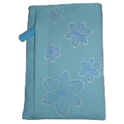Flower Print Digital Camera Case Blue