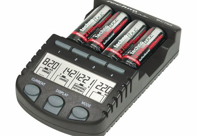 BC-700 Alpha Power 9 in 1 intelligent Battery Charger (UK Version)