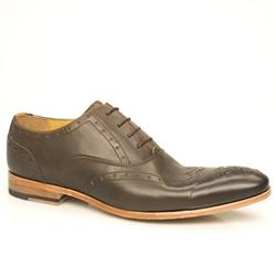 Male Gotti 1 Leather Upper Laceup in Brown