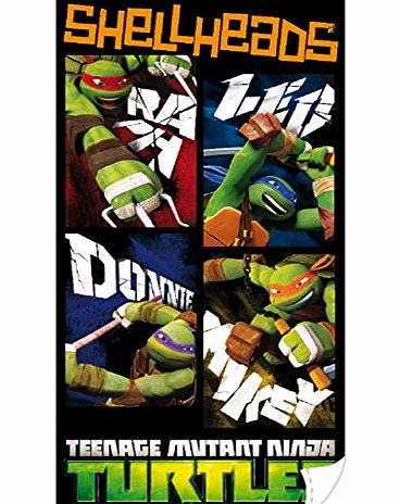 Teenage Mutant Ninja Turtles Shellheads Beach Towel