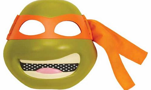 TMNT Deluxe Mike Mask Costume Accessory