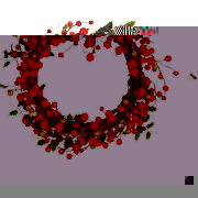 10 Red Berry Wreath
