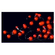 100 Low Voltage Red Berry Lights (Outdoor)