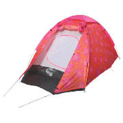 2 person dome tent pink hibiscus