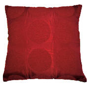 Boucle Cushion, Berry