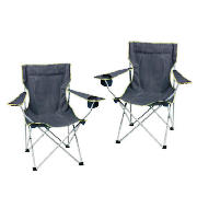 Folding Arm Chair pack of 2-BUNDLE