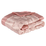 Satin Bedspread Double/King, Pink 200x220cm