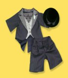 TOP HAT AND TAILS FIT 15 INCH BUILD A BEAR FACTORY