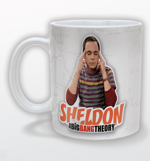 Big Bang Theory Sheldon Mug