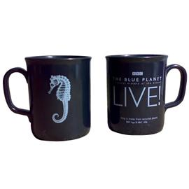 the Blue Planet Live Recycled Plastic Mug