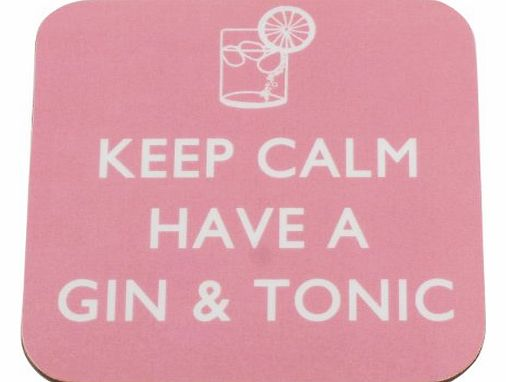 The Coaster Company Keep Calm Have a Gin