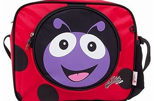 Polka Ladybird Shoulder Bag by The Cuties & Pals