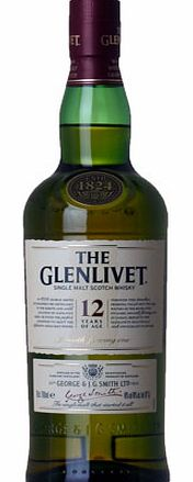 Glenlivet 12 year old, Speyside 70cl