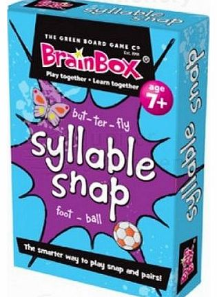 Syllable Snap Card Game by BrainBox