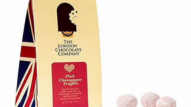 Pink Champagne Chocolate Truffles 120g