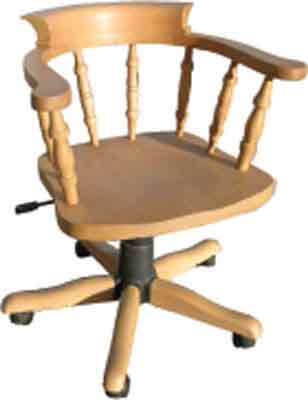 The Pine Factory OFFICE CHAIR SMOKERS BOW