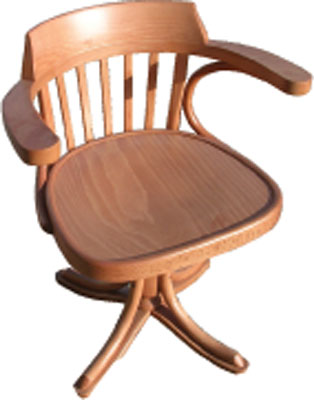 The Pine Factory OFFICE CHAIR STANDARD NO CASTORS