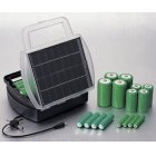 Solar Battery Charger with Multi Jack