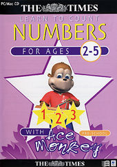 The Times Ace Monkey Pre-School Numbers