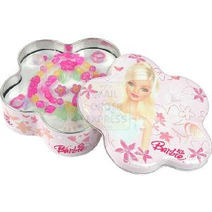 Barbie Metal Box with Jewellery