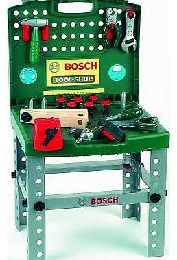 Bosch Toy Tool Shop with Cordless Screwdriver