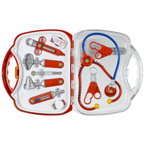 Transparent Medical Playcase