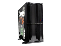 Soprano Black Middle Tower Case With Window NO PSU