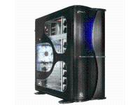 Soprano FX Tower Case - Black With Window