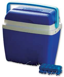 32 Litre Cool Box with 2 Free Ice Packs