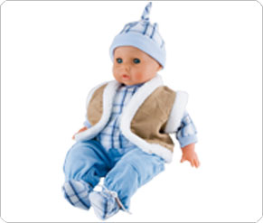 Boy Doll 5 Piece Outfit
