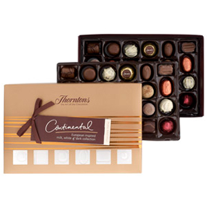 Continental - Box Of Chocolates (610g)