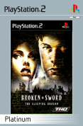 Broken Sword 3 The Sleeping Dragon Platinum PS2
