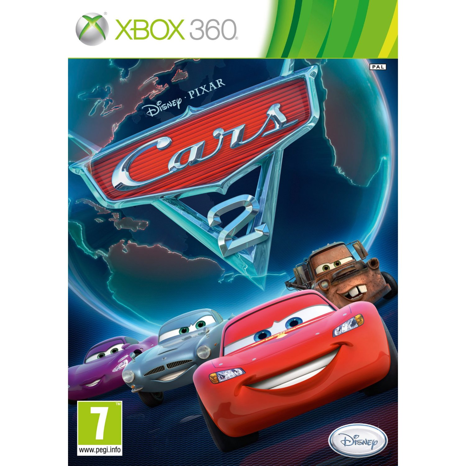 Cars 2 The Videogame Xbox 360