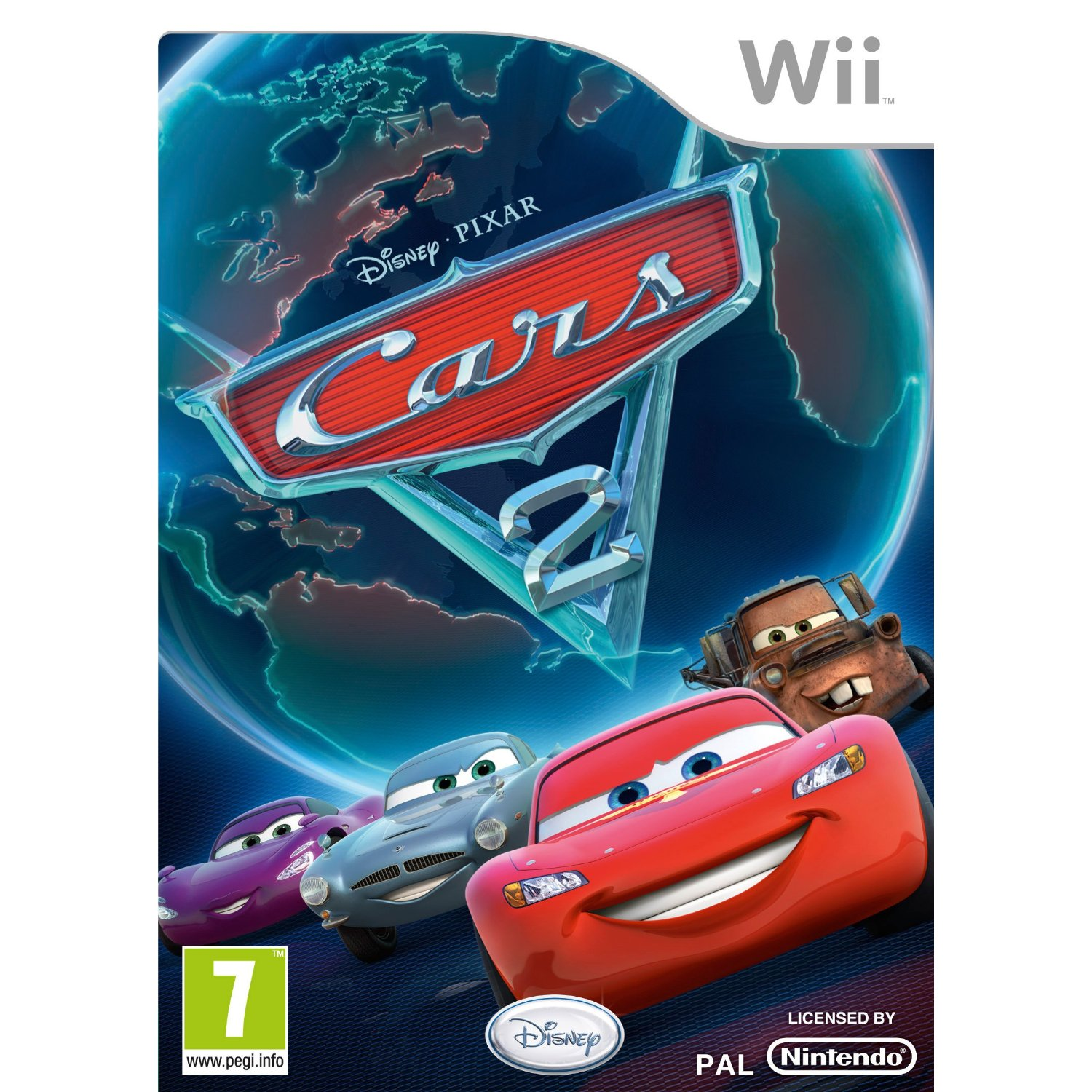 Cars 2 Wii