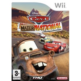 Cars Mater-National Wii