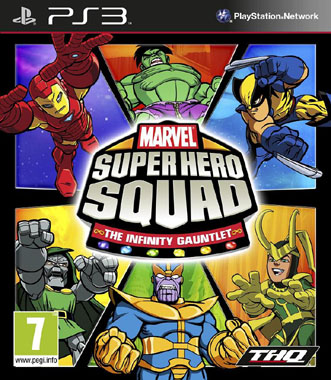 Marvel Super Hero Squad The Infinity Gauntlet PS3